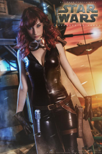 Illisia Cosplay and Photography as Mara Jade Skywalker