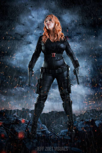 Jesska Edwards as Black Widow