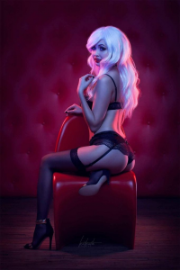 Kitkath Cosplay as Black Cat
