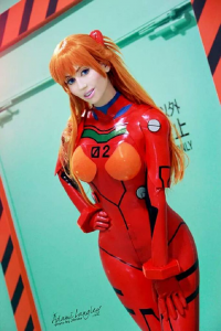 Adami Langley as Asuka Langley Soryu