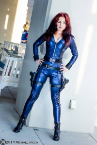 Unknown Female Artist as Black Widow