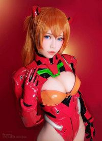 Ely Cosplay as Asuka Langley Soryu