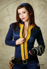 Unknown Female Artist as Vault Dweller