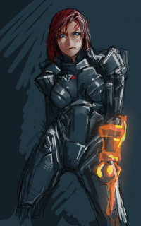 Jane Shepard from Draghignazzo