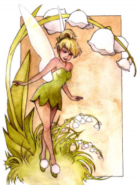 Tinker Bell from Doria-plume