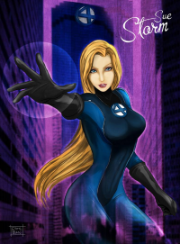 Sue Storm from Esteban Barrientos