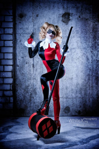 Blossom Of Faelivrin as Harley Quinn