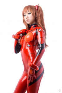JS Cosplay as Asuka Langley Soryu