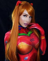 Elise Cosplay as Asuka Langley Soryu
