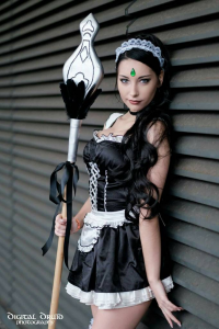 Beke Cosplay as Nidalee/Maid