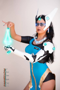 Unknown Female Artist as Symmetra