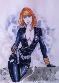 Black Widow from Andrew Black
