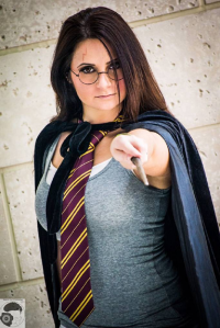 Scarlett Rose Cosplay as Harry Potter