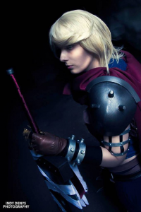 Alini Cosplay as Cloud Strife