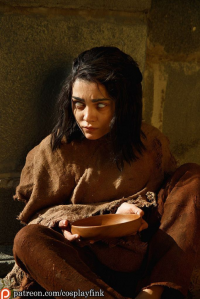 Christina Fink as Arya Stark