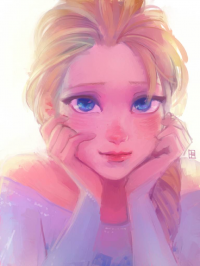 Elsa of Arendelle from A-kachen