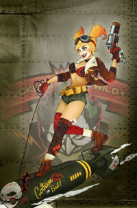 Harley Quinn from Ant Lucia