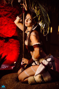Ashleann Cosplay as Nidalee