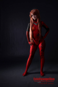 Evie Evangelion as Asuka Langley Soryu