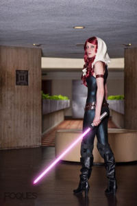 Moe Hunt as Mara Jade Skywalker