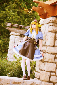 Bethany Of Chroma Cosplay as Alice Liddell