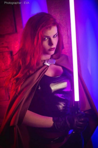 Anya Ichios Cosplay as Mara Jade Skywalker