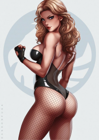 Black Canary from Dandonfuga