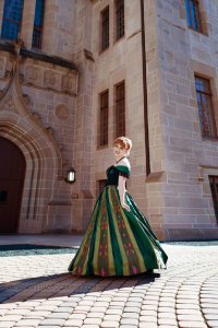 Noontime Shadows Cosplay as Anna of Arendelle