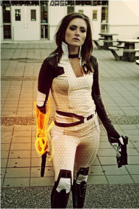 Unknown Female Artist as Miranda Lawson