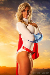 Alyssa Loughran as Power Girl