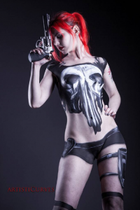 Leyna Sweet as Punisher