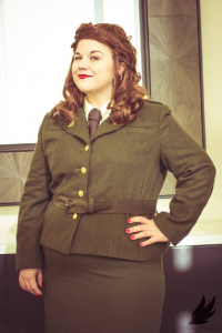 Silver Doe Cosplay as Peggy Carter