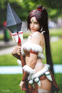 Beke Cosplay as Nidalee