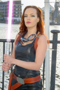 Lady Of Distraction as Mara Jade Skywalker