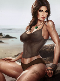 Lara Croft from Dandonfuga