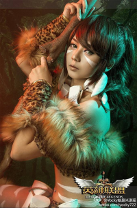 Unknown Female Artist as Nidalee