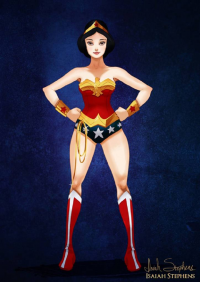 Snow White/Wonder Woman from Isaiah Stephens