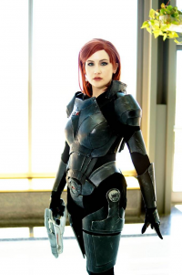 Unknown Female Artist as Jane Shepard