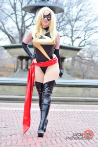 Elena Blueskies Cosplay as Ms. Marvel