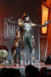 Unknown Female Artist as Demon Hunter