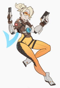 Mercy/Tracer from Splashbrush