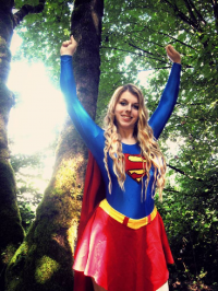Angel Mitchell as Supergirl