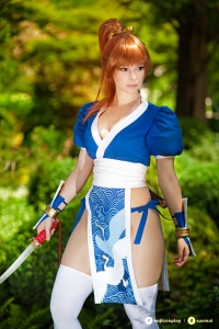 Enji Night as Kasumi