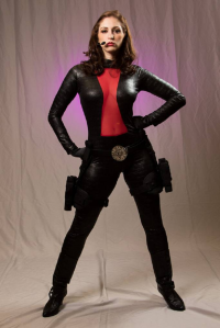 Carla as Black Widow