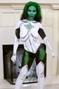 Affluent Productions as Green Lantern