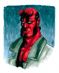 Hellboy from Chris Butler