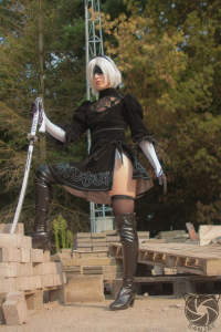 Bubblegum-kitty as 2B