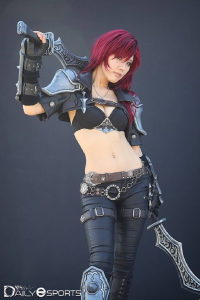 Unknown Female Artist as Katarina