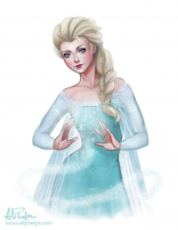 Elsa of Arendelle from Ali Phelps