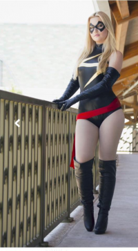 Chrsitina Faye as Ms. Marvel